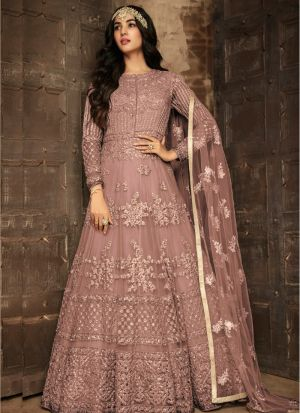 Amazing Embroidered Heavy Net Salwar Suit