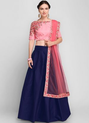 Blue Designer Exclusive Bridal Lehenga Choli