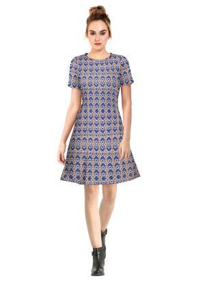 Blue Short Dresses For Party