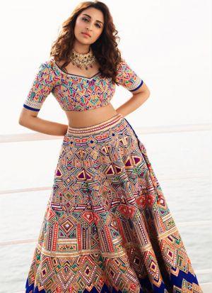 Bollywood Designer Multi Color Digital Printed Lehenga Choli