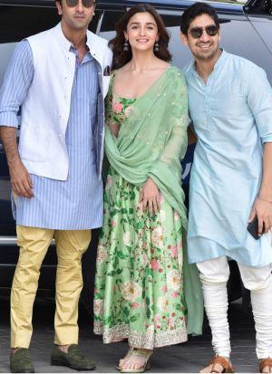 Bollywood Style Latest Green Long Anarkali Salwar Suit