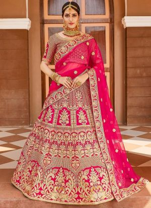 Bridal Special Velvet Embroidery Lehenga