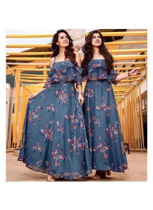 Chinon Silk Multi Color looking for something classy lehenga choli