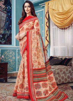 Exceptional Multi Color Kota Saree