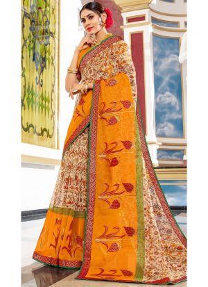 Gorgeous Multi Color Designer Kota Saree