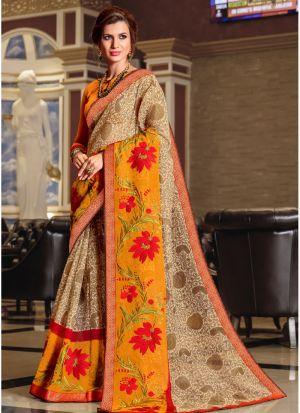 Multi Color Elegant Kota Saree