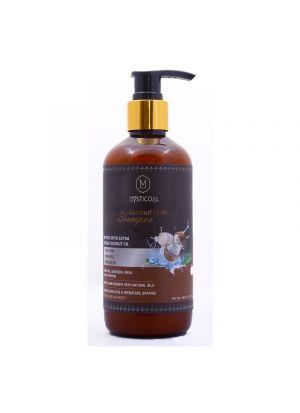 Mysticoal Coconut Milk Hair Shampoo For Men And Women Hair 300 Ml