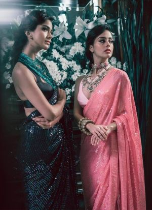 New Launching Superhit Designer Rani Bollywood Saree Collection