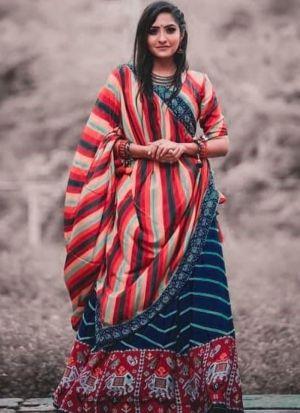 Newly Launch Multi Color Lehenga Choli With Beautiful Duppata