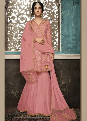 Pretty Embroidered Party Special Salwar Suit