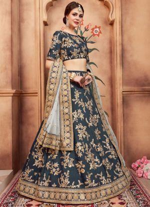 Rama Art Silk Florals Vol 2 Designer Lehenga Choli