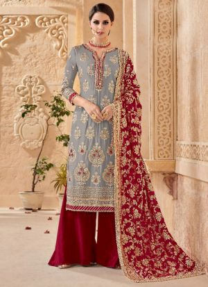 Wedding Wear Embroidered Salwar Suit