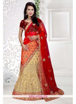 Chiku Heavy Bangalore Silk Lehenga