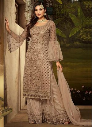 Designer Heavy Net Embroidered Salwar Suit