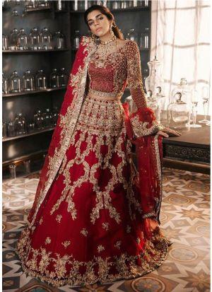 Elegant Collection Red Lehenga Choli For Indian Bridal