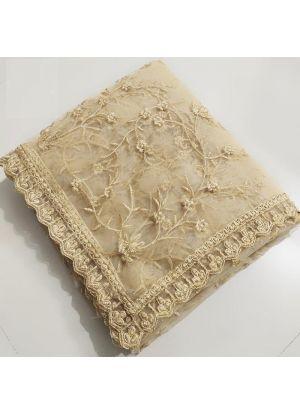 Fancy Thread Work Chiku Naylon Net Saree