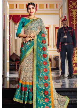 Graceful Multi Color Kota Saree