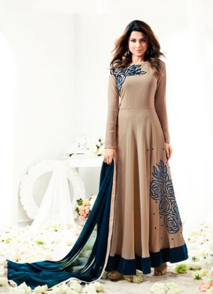 Jennifer Winget Style Fancy Anarkali Suit