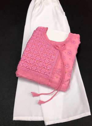 Light Pink Casual Wear Suit