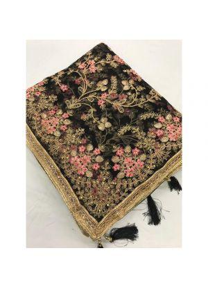 New Launching Heavy Net Black Traditional Designer Saree