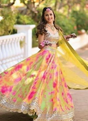 Newest Designer Multi Color Lehenga Choli