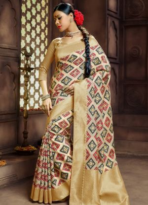 Pure Banarasi Silk Multi Color Traditional Wedding Saree Collection