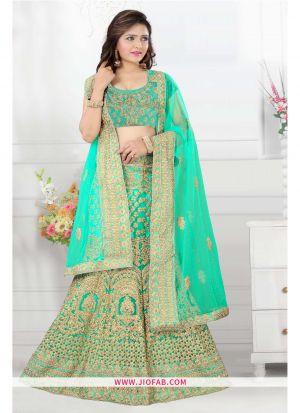 Rama Bridal Designer Anarkali Lehenga