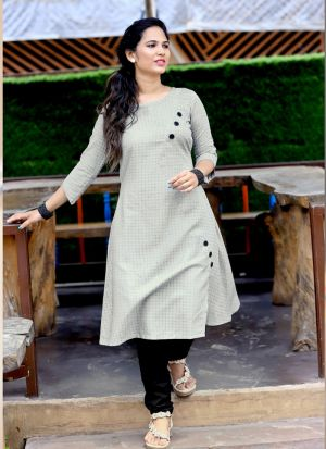 Stunning Grey Party Wear Palazzo Suit