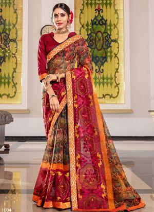 Traditional Multi Color Wedding Kota Saree Collection