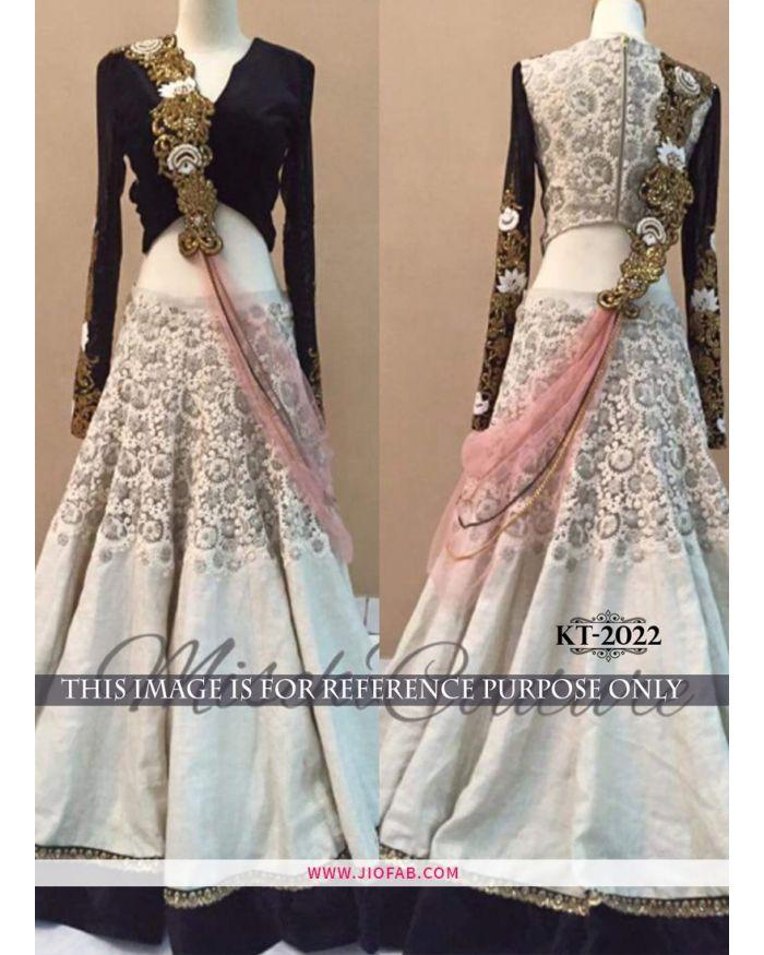 a75f4af309 KT 2022 Hand Work Bangalore Silk Net Party Wear Lehenga Choli | Lehenga  Design | JF400012