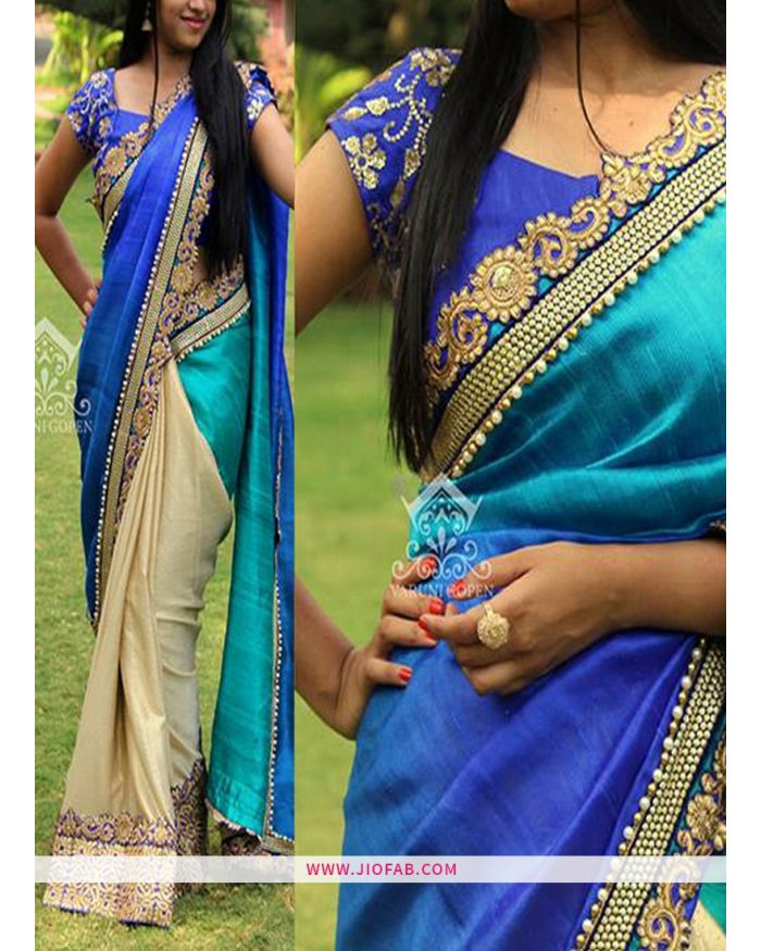 993526a9bb KT 3101 New Work Multi Color Designer Sarees   Latest Saree   JF200090