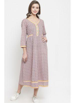 Best Designer Multi Color Cotton Flex Kurti Collection For Womens
