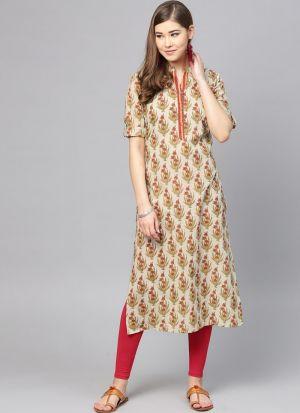 Best Designer Multi Color Pure Cotton Kurti Collection For Womens