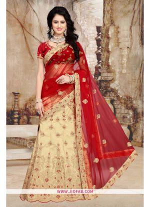 Bridal Chiku Semi Stitched Lehenga