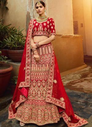 Bridal Wear Latest Design Pure Velvet Lehenga Choli