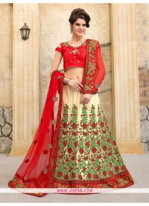 Chiku Bridal Semi Stitched Chaniya Choli