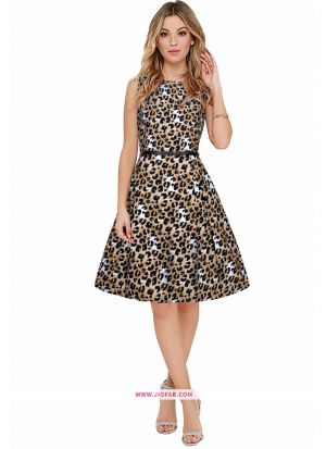 Crepe Western Wear Unquie Dress In Black Color