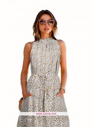 Designer Cruze Leopard Dress