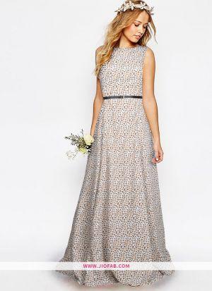 Exclusive Designer Cream Gown