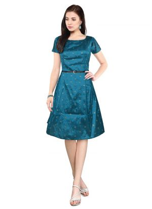 Exclusive Designer Green Dress