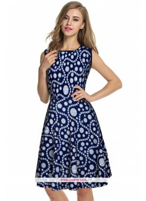 Exclusive Designer Grey Short Dress