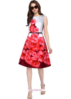 Exclusive Designer Red Short Dress