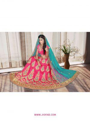 Gajari Bridal Designer Chaniya Choli