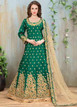 Green Mulberry Aanaya New Design Punjabi Suit