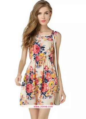 Jolly Spring Cotton Dress