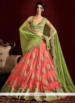 KT 2062 Hand Work Naylon Net Party Wear Lehenga Choli