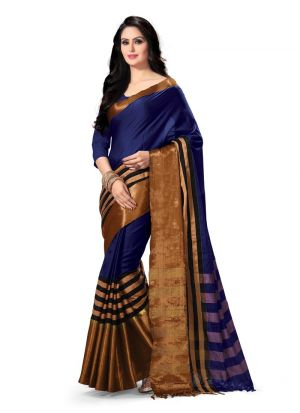 Latest Fancy Multi Color Elegant Party Wear Saree Collection