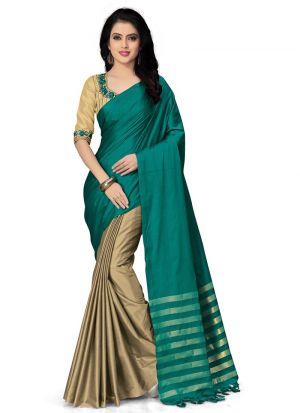 Latest Fashions Multi Color Designer Saree