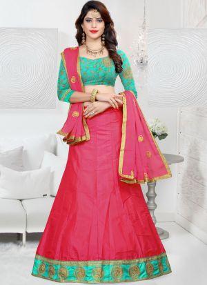 Latest Gajari Sana Silk Designer Lehenga Choli