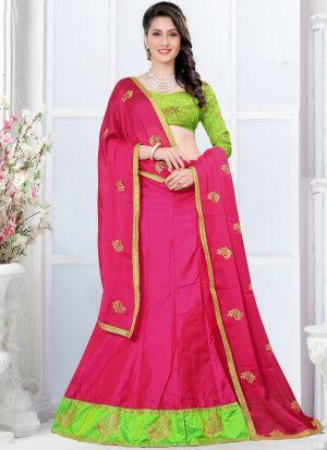 Latest Rani Sana Silk Designer Lehenga Choli